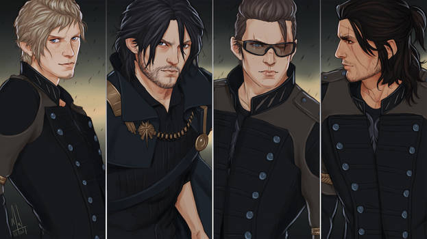 FFXV Brothers by Merwild
