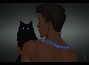 Blue eyes by Merwild
