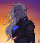 Prince Lotor by Merwild