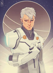 Captain Shiro by Merwild