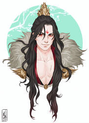 Luo BingHe by Merwild