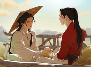 The Prince Meets San Lang