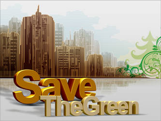 Save The Green Save The World