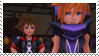 Neku and Sora - Kingdom Hearts 3D Stamp by Mizdreavus