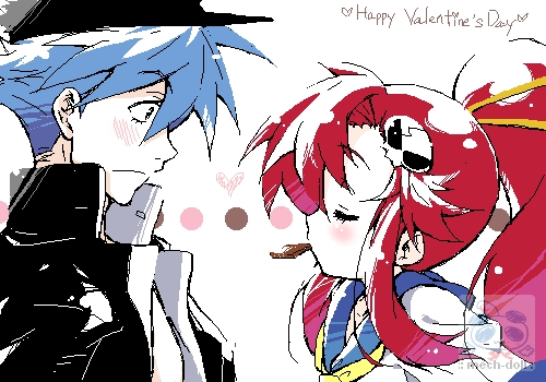 Kamina x Yoko by mech-doll on DeviantArt