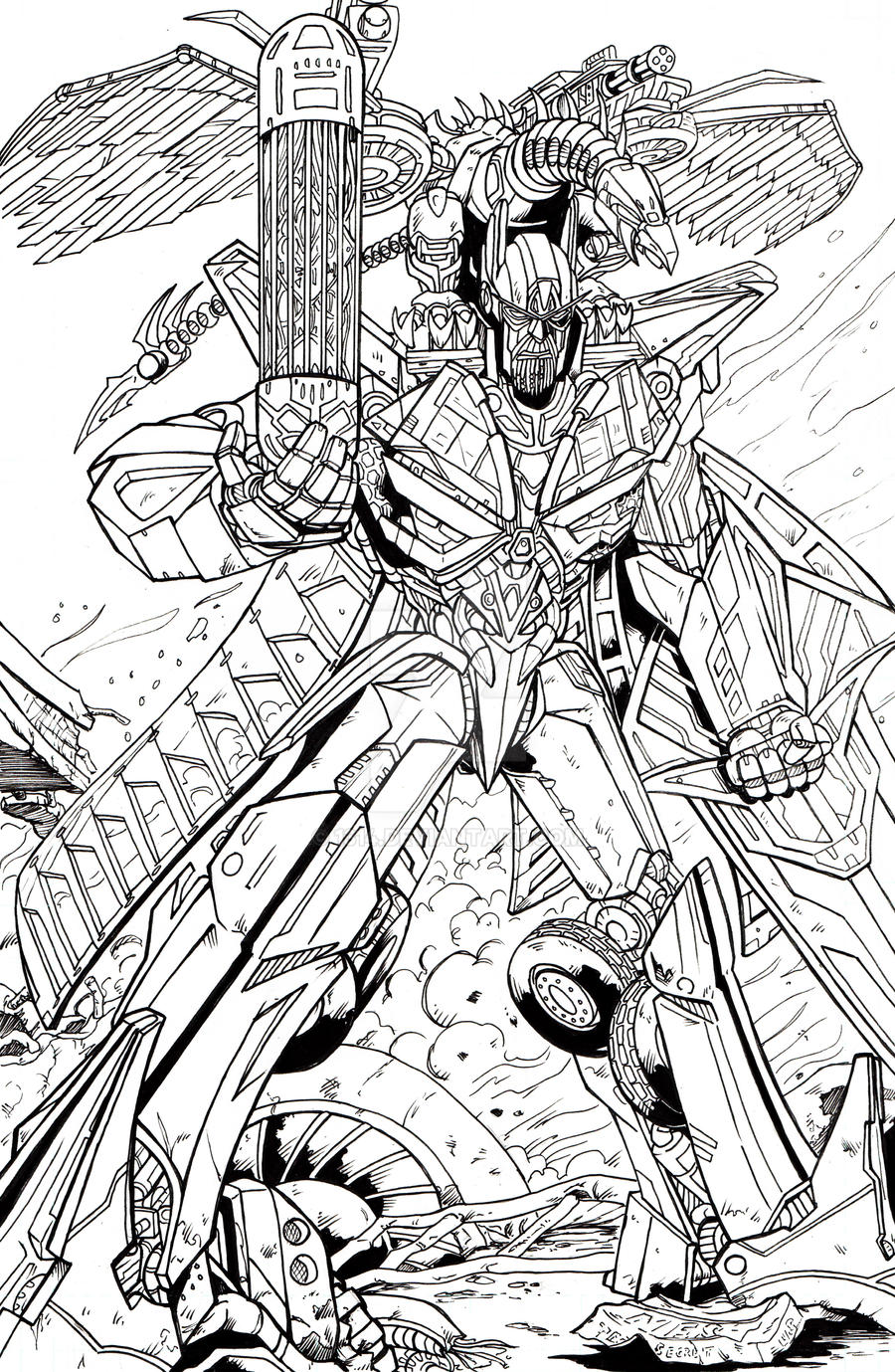 transformers sentinel prime coloring pages sentinel prime 2 0 by 1314 on deviantart