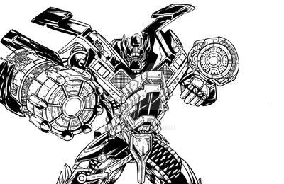 Ironhide Coloring Pages Murderthestout - Ironhide-coloring-pages