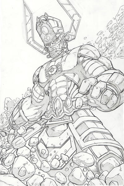 Galactus The Destroyer of Worlds by 1314