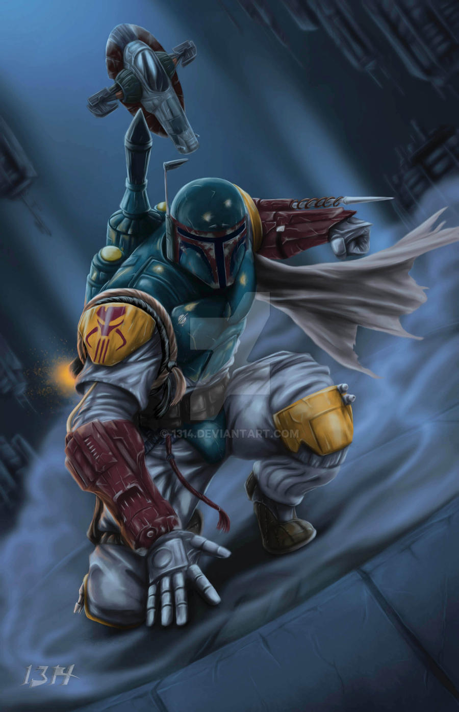The Fett has landed..... by 1314