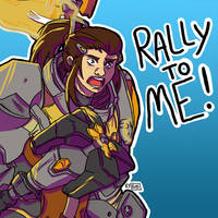 RALLY TO ME! by kyokips