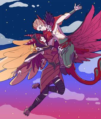 Love Birds by kyokips
