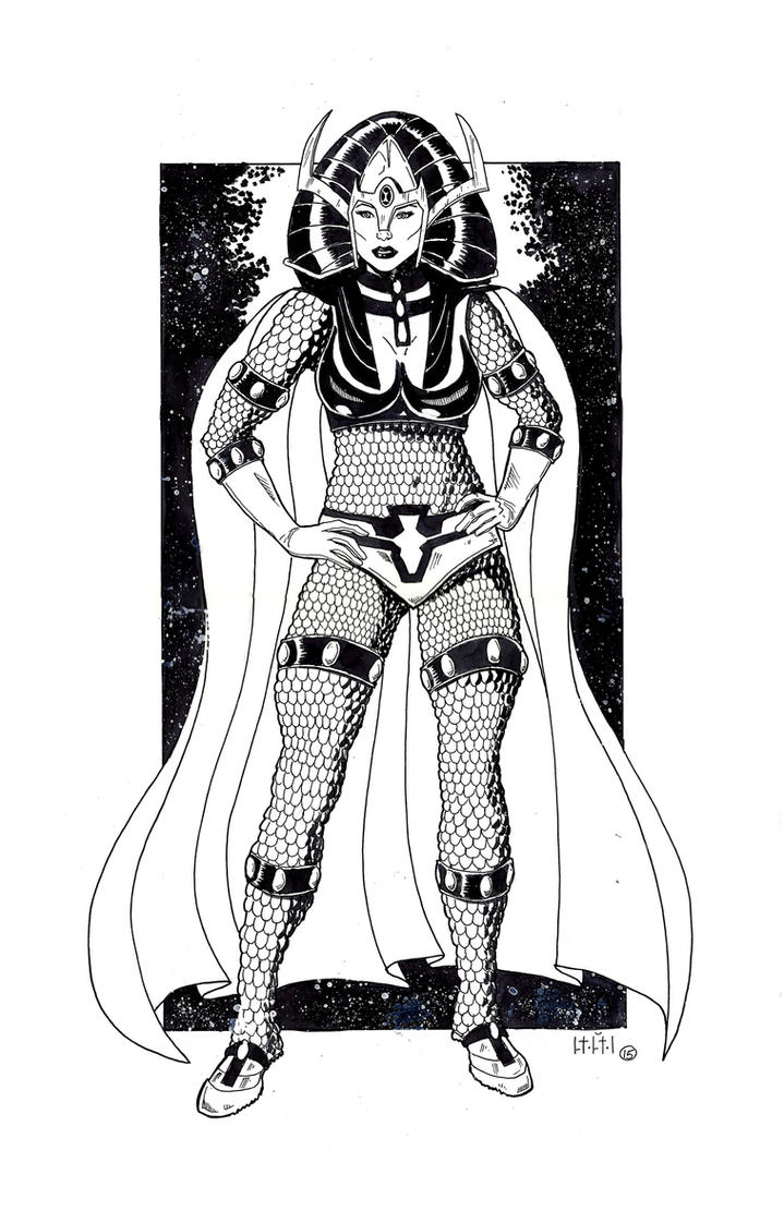 Big-Barda by SasaBralic