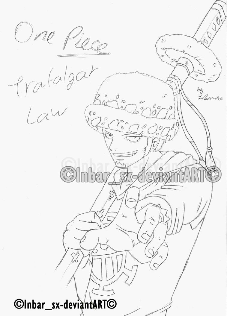 one piece- trafalgar law 2 by knight-sx