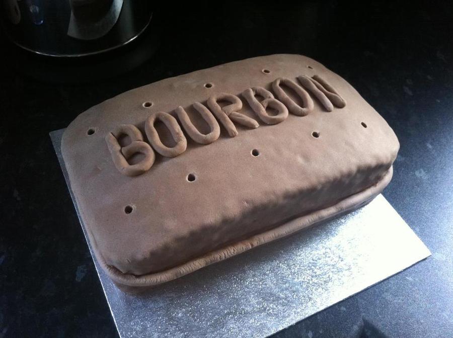 Bourbon Biscuit Birthday Cake