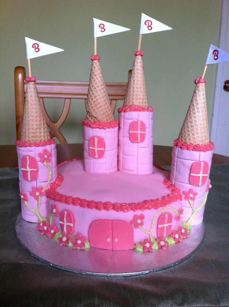 How To Decorate Wilton Princess Castle Cake