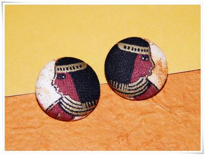 Cleopatra Egyptian Earrings by dotdonahue