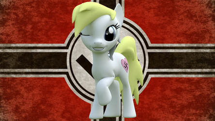 Aryanne Nazi Flag by KineticMaelstrom