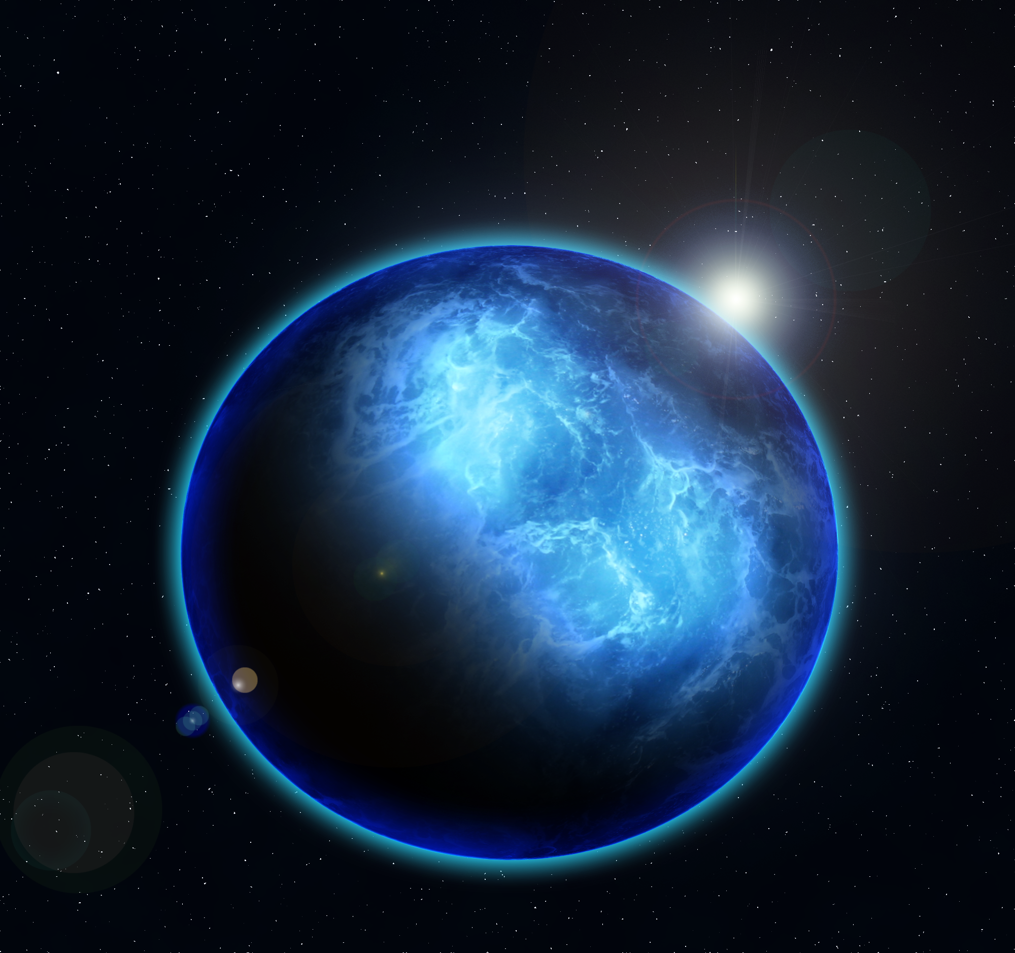 what planets have water - photo #11