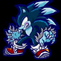 Werehog Sonic - Sonic Battle by Cerberean