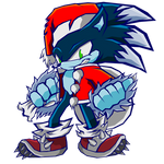 SB - Christmas Werehog Sonic