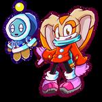 Winter Cream and  Cheese - Sonic Battle