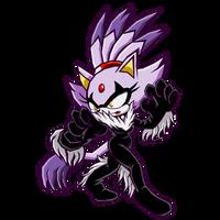 Halloween Blaze - Sonic Battle by Cerberean