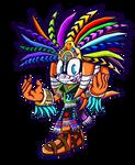 Dia De Los Muertos Tikal - Sonic Battle
