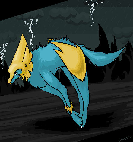 Manectric by RazeGrovyle