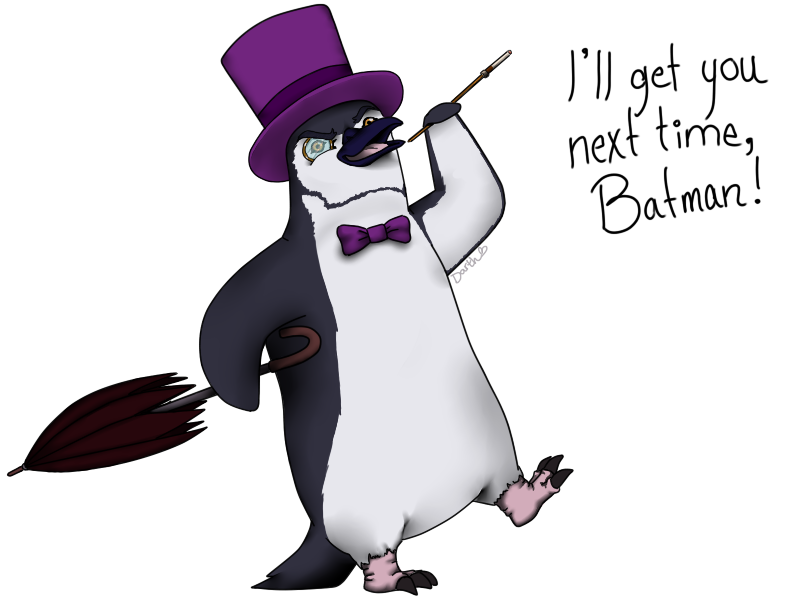 Penguin by Thlaan
