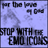 STOP THE EMO by brianl03