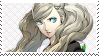 Persona 5: Ann Fan Stamp by Mochiettes-Stamps