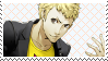 Persona 5: Ryuji Fan Stamp by Mochiettes-Stamps