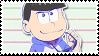 Osomatsu San 2017: Karamatsu by Mochiettes-Stamps
