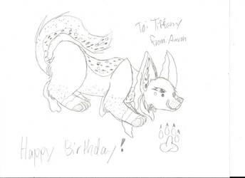 Happy early Birthday Coy-Koi