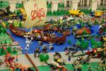 Lego City No.6: The War Begin