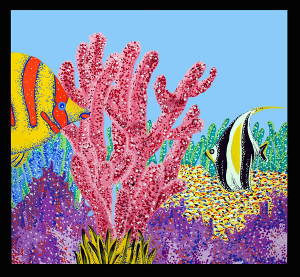 Painting Coral Color