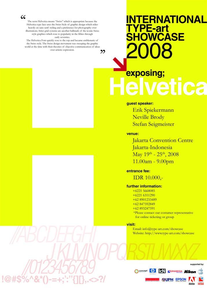 Helvtica Poster