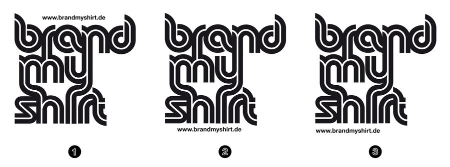 Brand My Shirt Logo Identity By Kn33cow On Deviantart