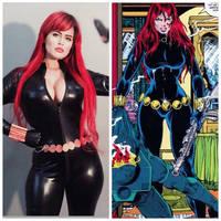 Black Widow - Marvel Comics  by Leticiahadmadcosplay