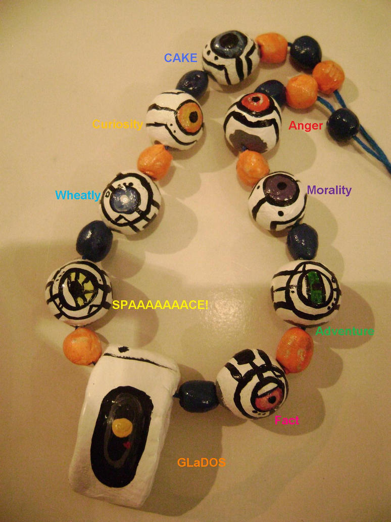 Portal cores necklace by psychoinabox on deviantart - Portal entree ownership ...