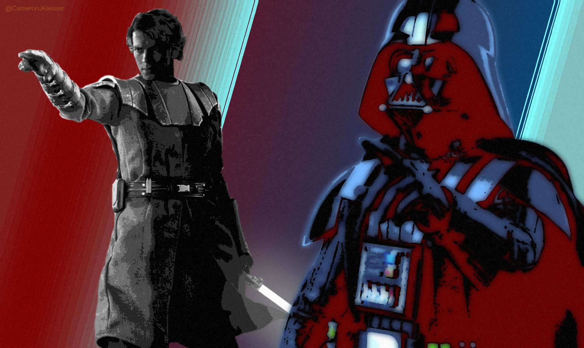 Anakin Skywalker Darth Vader Star Wars Wallpaper By Cameron Kiesser On Deviantart