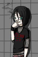 The Kinder Goth by zombiebites