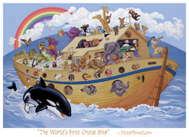the World's First Cruise Ship by theartyst