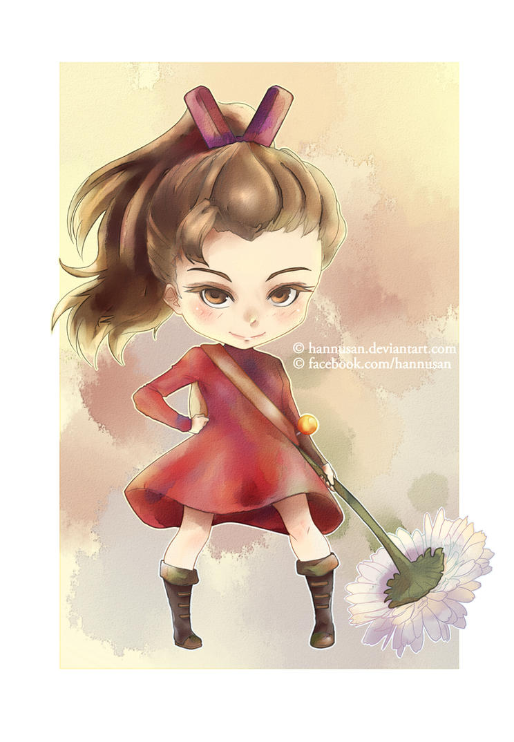 Arrietty by Hannusan