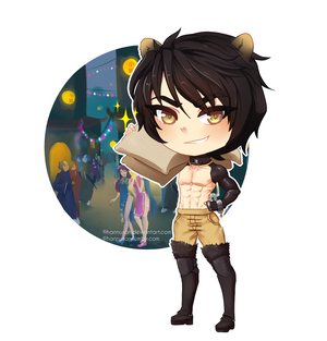 Chibi Koda, RPG version by Hannusan