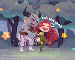 C: tickles! by Hannusan