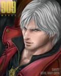 Dante from DMC4 : face
