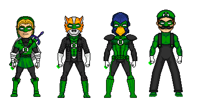 Nintendos Green Lanterns by Junkey