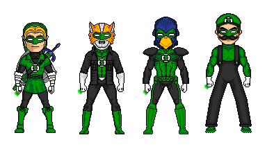 Nintendos Green Lanterns by Junkey