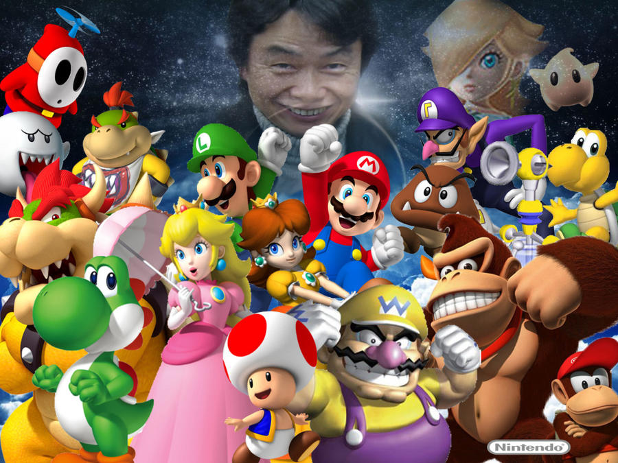 Miyamoto's Creation( Super Mario Universe) by AwesomeQman